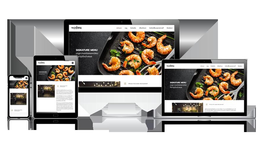 ตัวอย่างเว็บไซต์ร้านอาหาร, ธุรกิจร้านอาหาร